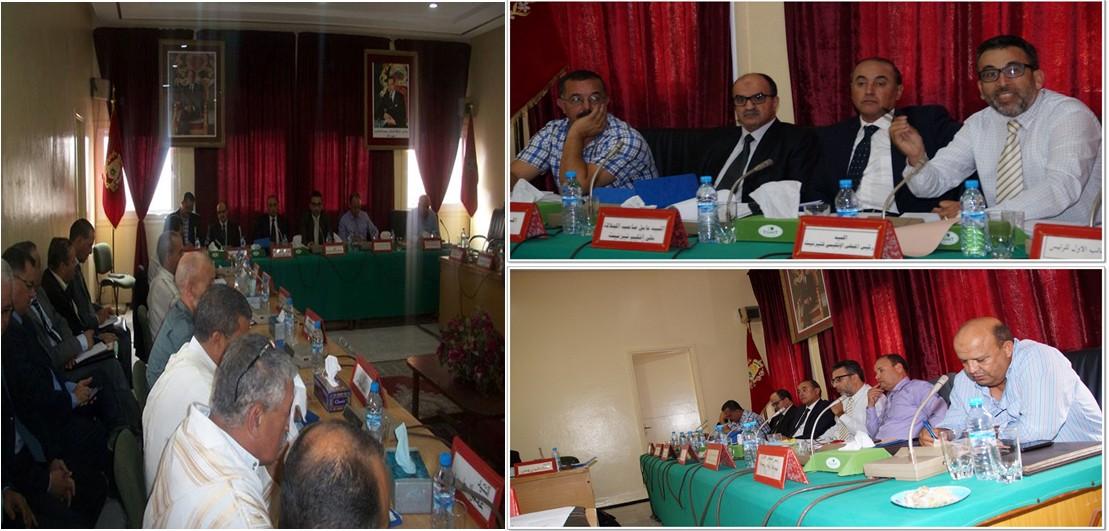 جماعة أربعاء رسموكة تحتضن دورة أكتوبر العادية للمجلس الإقليمي  لتيزنيت