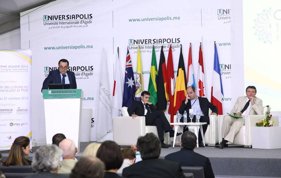 أكادير : اختتام فعاليات الدورة ال12 للمؤتمر الدولي الفرنكوفوني حول المقاولات الصغرى والمتوسطة (CIFEPME 2014)