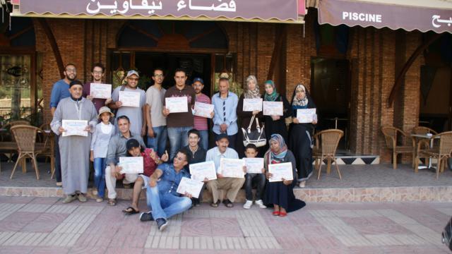 تافروات : شباب تافروات يستفدون من تكوين حول الديمقراطية وحقوق الانسان
