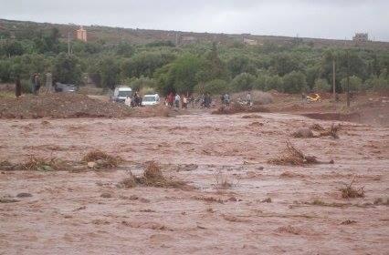 طاطا : نداء استغاثة…حصار وانهيار منازل وحوامل في خطر بسبب الأمطار