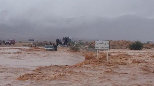 كلميم : ارتفاع قتلى الفيضانات  إلى 33