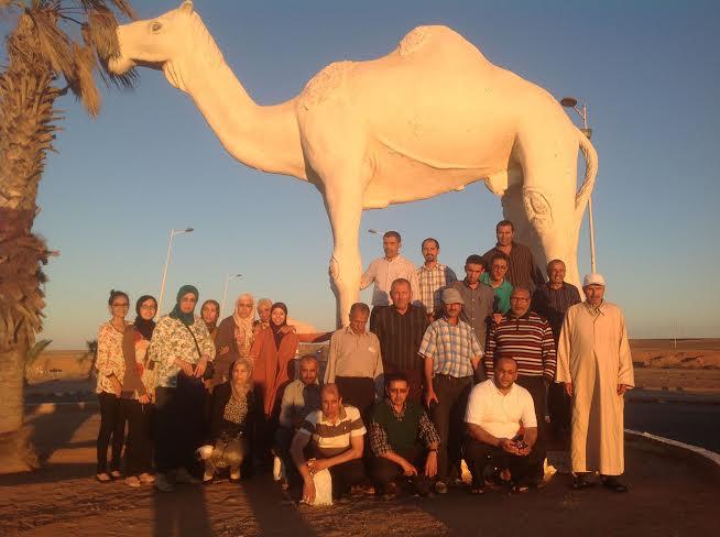 تقرير عن رحلة مؤسسة الاعمال الاجتماعية للتعليم بتيزنيت للأقاليم الصحراوية