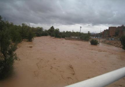 تنغير : فيضانات مفاجئة تحاصر ساكنة القرى الجبلية وتخلف خسائر في الأرواح
