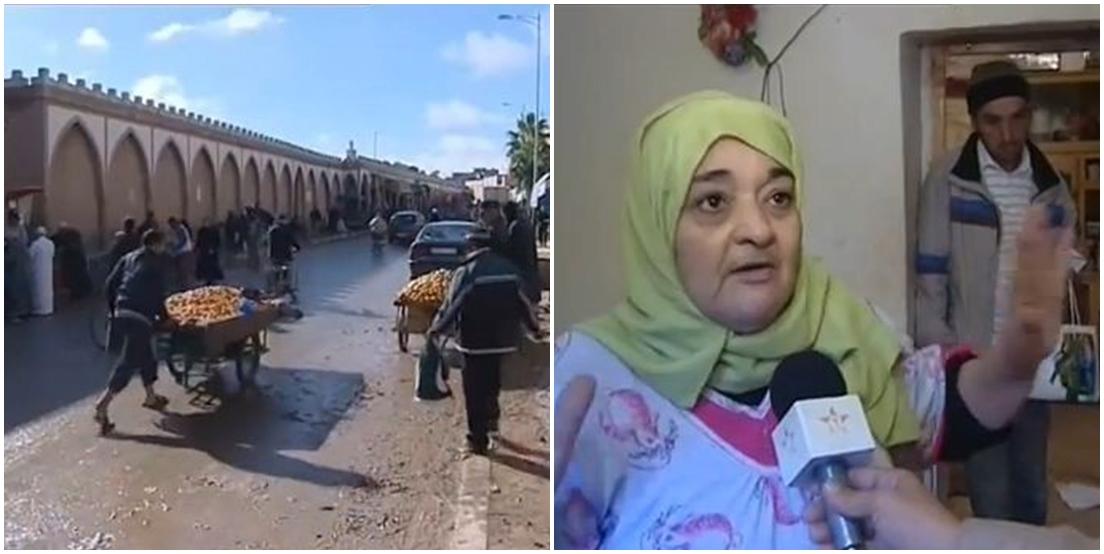 تيزنيت: فيديو تغطية القناة الأولى لأضرار وخسائر فيضانات إكي واسيف ( فوق الواد )