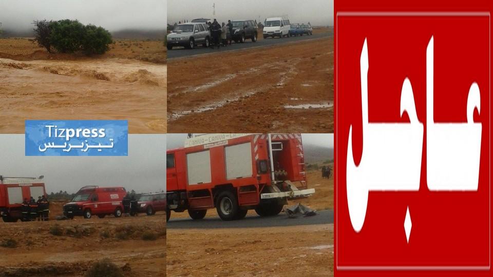 عاجل: الوزير مصطفى الخلفي يحل بموقع فاجعة واد تيمسورت بيزاكارن (بالصور)