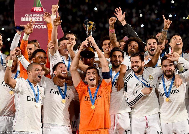 الريال يتوج بالنسخة الــ 11 لكأس العالم للأندية