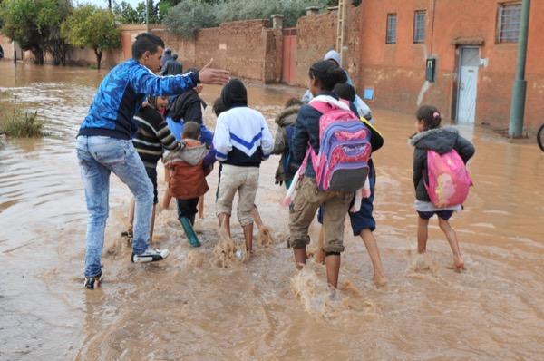 ورزازات : أزيد من 130 تلميذ محرومون من الدراسة منذ الفيضانات