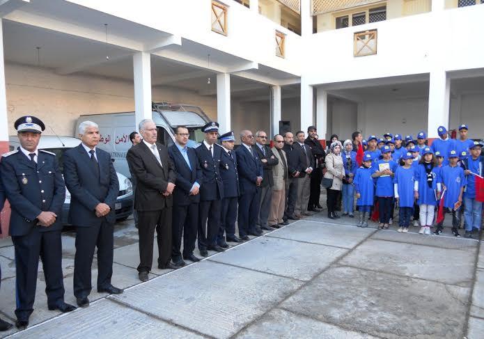 إنزكان : الإدارة الإقليمية للمنطقة الأمنية بانزكان تستقبل تلاميذ وتلميذات مؤسسة الراسخ التعليمية