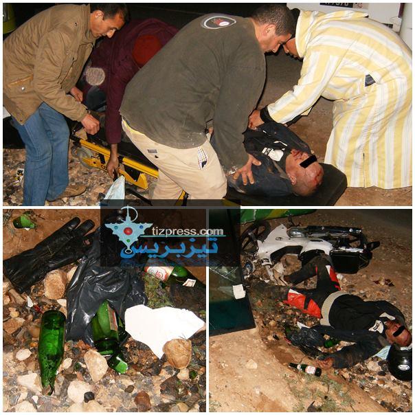 عاجل : أكلو … حادثة سير خطيرة ( صور )