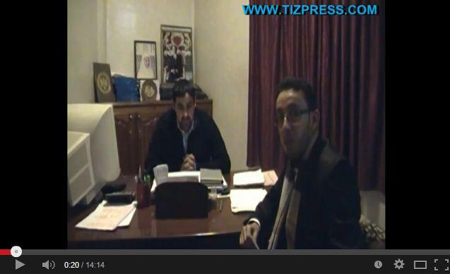 تيزبريس تستضيف سعيد بنمبارك رئيس جماعة أيت الرخاء