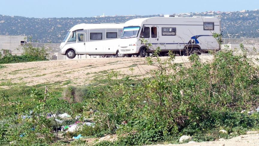 أكادير : سياحة الكرفان تجتاح المدينة