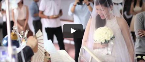 شاهد الفيديو الأكثر تأثيرًا في العالم: فتاة تتمسك بالزواج من خطيبها قبل وفاته بـ10 ساعات