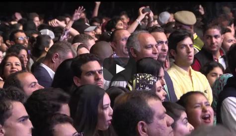 """بالفيديو : وزير الخارجية مزوار  يرقص في حفل """"إيجي أزاليا"""""""