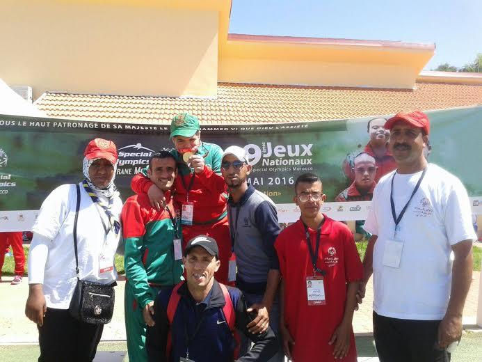 تيزنيت : تحدي الإعاقة تتألق في الدورة التاسعة للأولمبياد الخاص المغربي بحصدها لستة عشرة (16)ميدالية ووشاحين