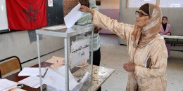 A Moroccan woman casts her vote in the local elections at a polling station in the centre of the Moroccan capital Rabat on September 4, 2015. Some 15 million Moroccans are heading to the polls for the local elections seen as a gauge of the popularity of the government of Abdelilah Benkirane a year ahead of a general election. AFP PHOTO / FADEL SENNA        (Photo credit should read FADEL SENNA/AFP/Getty Images)