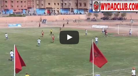 بالفيديو : اهداف مباراة الوداد وامل تيزنيت