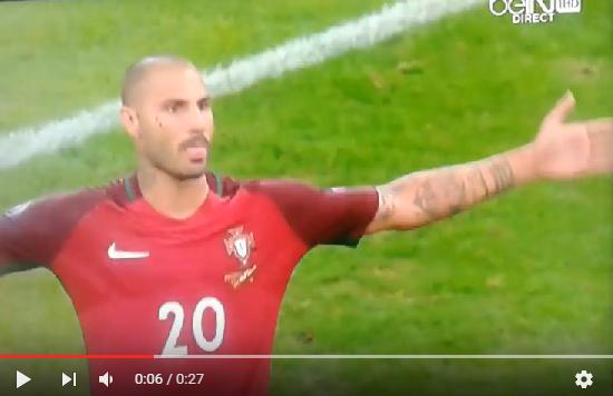 هدف تأهل البرتغال لنصف نهائي يورو 2016