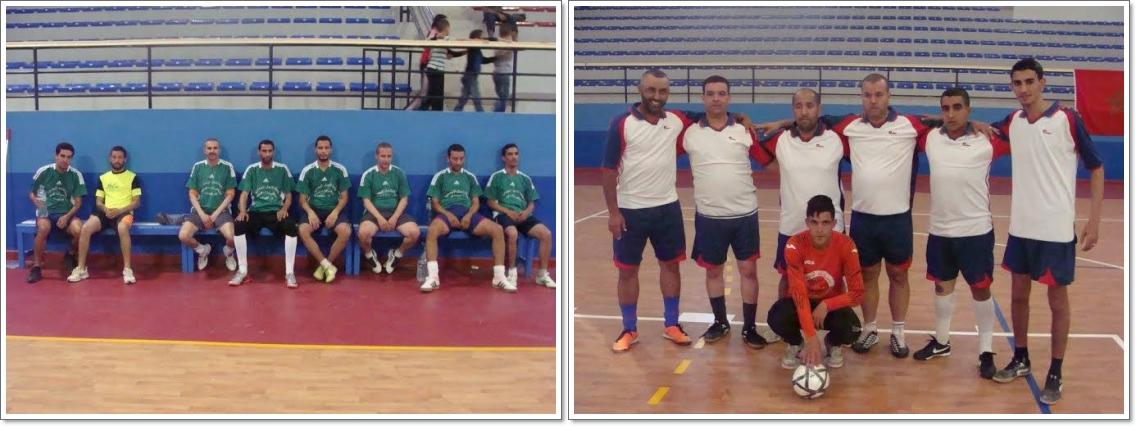 اختتام فعاليات دوري القطاعات لكرة القدم المصغرة بقاعة أناروز