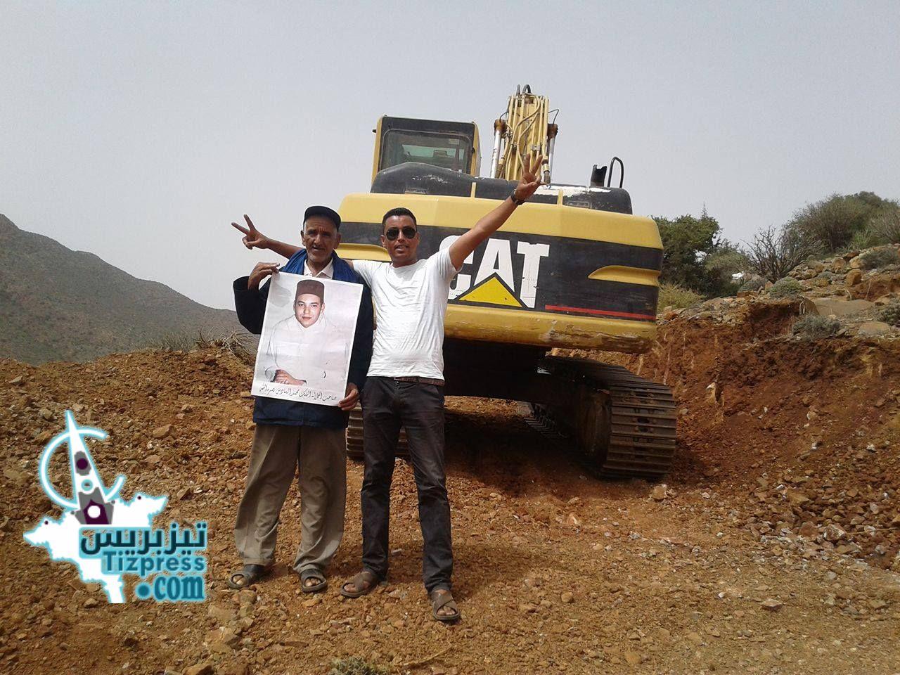 تيوغزة : شركة للإتصالات ترتكب مجزرة في حق شجرة اﻻركان