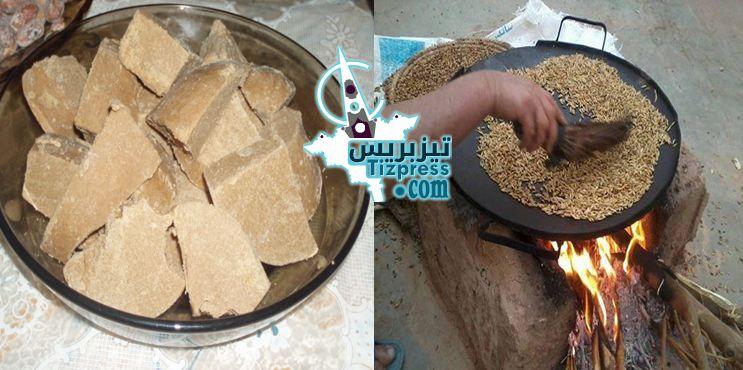 تيزنيت : «أَكْـــرْنْ إِجـَـانْ » ..أكلة ساكنة الإقليم التي تقاوم الجوع والعطش في رمضان