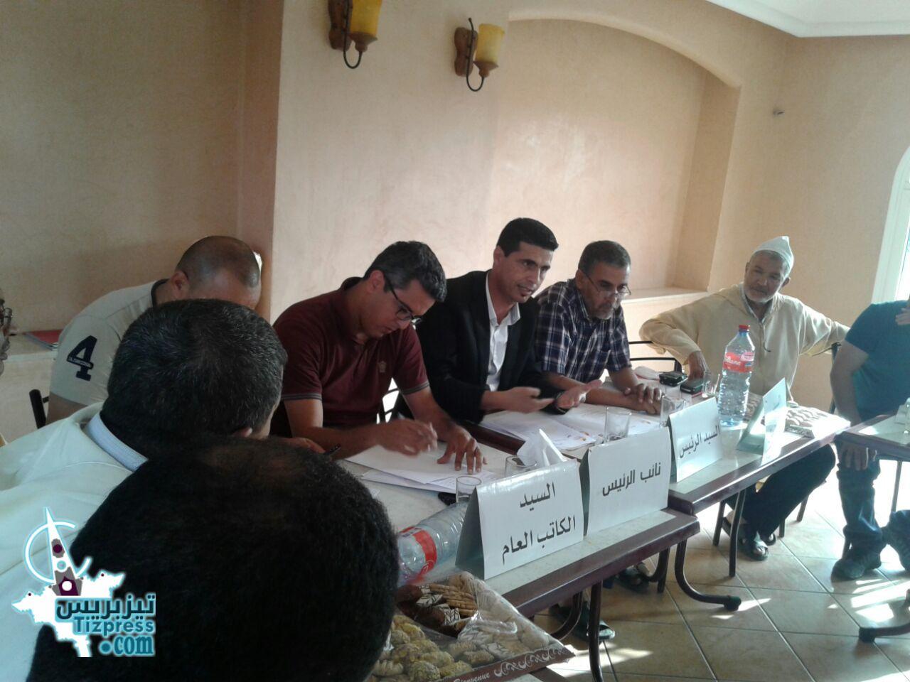بالصور  : جمعية تيزنيت لمربي دجاج اللحم تعقد اجتماعا لمكتبها لتدارس مشاكل القطاع