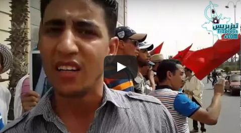 """تيزنيت :نساء ورجال """"امزاور وأمانوز"""" في إعتصام مفتوح أمام العمالة"""