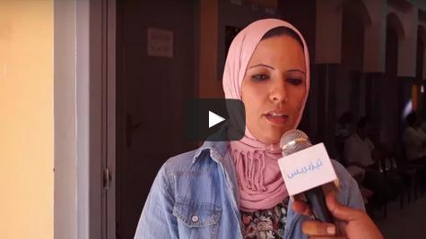 """تصريح لـــ""""السعدية امدان"""" رئيسة جمعية نور لأطفال التوحد بإقليم تيزنيت"""