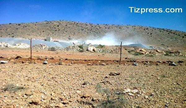 اولادجرار : 1000 توقيع وتعرض على فتح مقلع جديد للحجارة