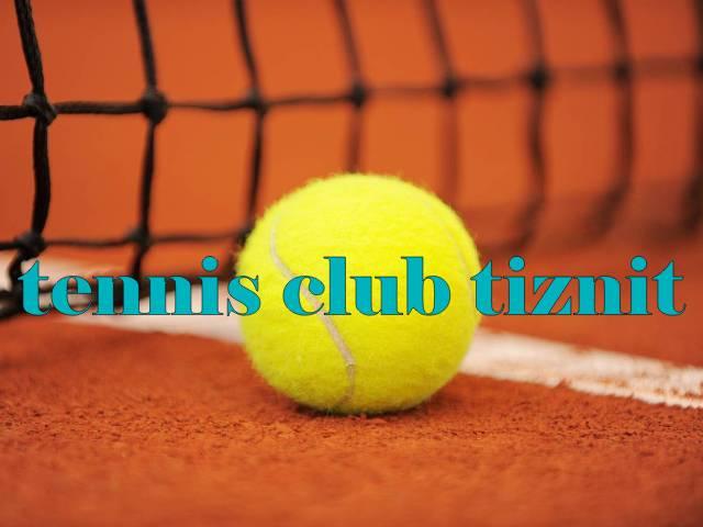 تيزنيت : دوري حبي في كرة المضرب