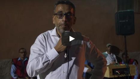 دموع البرلماني عبد الله غازي بمسقط رأسه بتافراوت