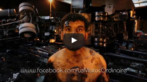 بالفـــيديو : شــاهد أقوى اللحظات التي تلت انقلاب شاحنة أمسكرود المحملة بالفيول
