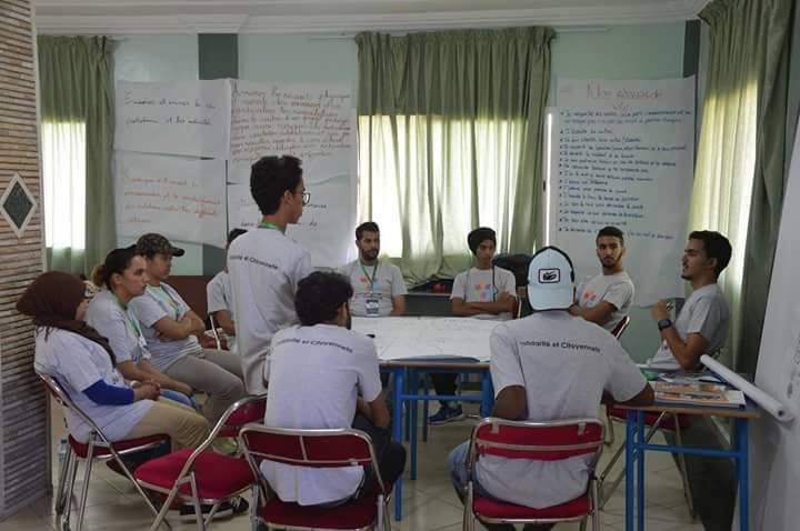 جمعية قادة الأمل ( LEADERS OF HOPE )بتيزنيت تنظم دورة تكوينية في مجال التأطير والتنشيط التربوي ( صور)