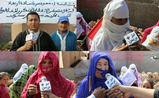 أربعاء الساحل : ساكنة ادهمو عمر تحتج على انقطاع الماء الصالح للشرب