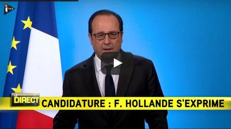 بالفيديو.. هولاند: لن أترشح لولاية رئاسية ثانية