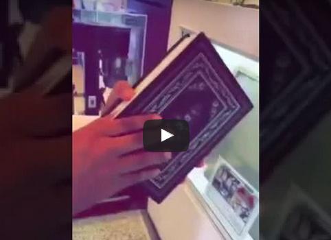 بالفيديو : مهربون يستغلون المصاحف لأمر شنيع في السعودية!
