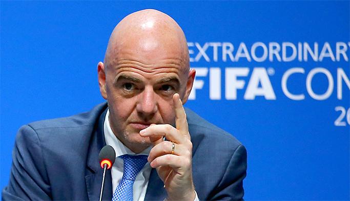 """""""الفيفا"""" يقرر زيادة عدد المنتخبات المشاركة في كأس العالم"""