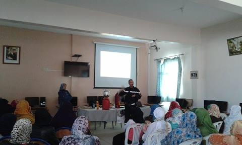 تيزنيت : يوم تحسيسي حول الوقاية من الحوادث المنزلية بحي دوتركا
