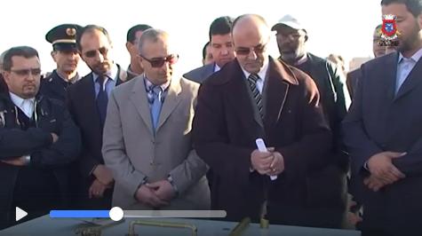"""تيزنيت : بالفيديو ..وضع الحجر الأساس لأشغال تشيد و بناء المركب السوسيوثقافي """" عموري مبارك"""""""