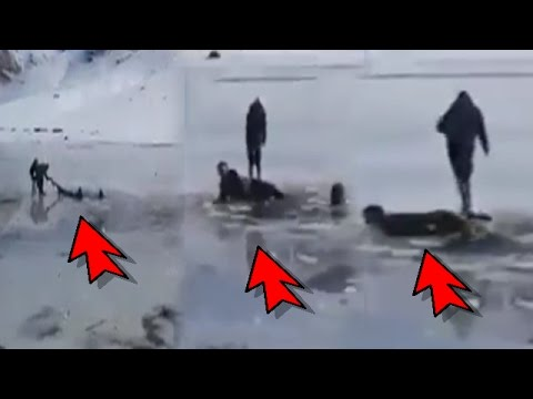 بالفيديو ..الوقاية المدنية والدرك ينتشلون جتة شاب غرق ببحيرة أوكايمدن