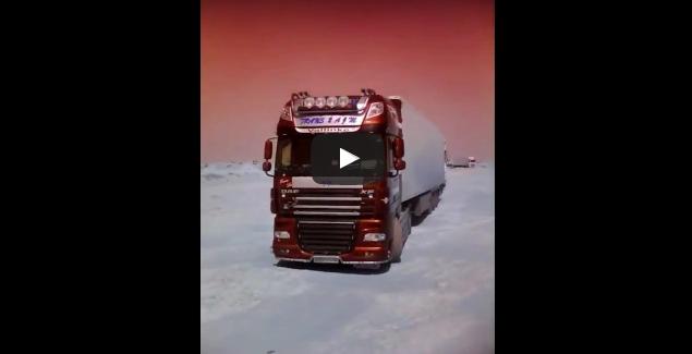 البوليساريو توقف شاحنة مغربية وترجعها من حيث جاءت