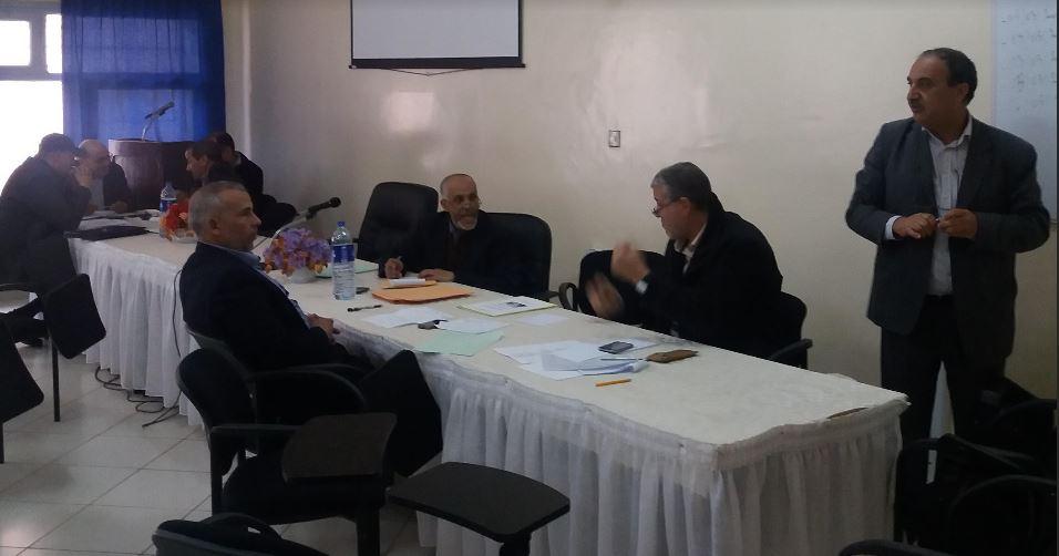 لجنة القيادة الإقليمية لتتبع مشروع المؤسسة  تعقد لقاءها الدوري بمديرية تيزنيت
