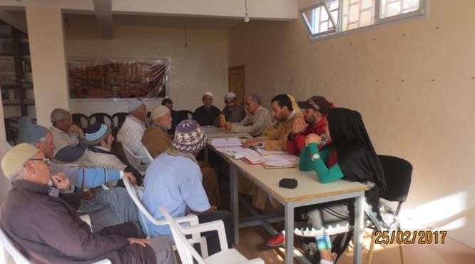 تافراوت : جمعية أداي تعقد لقاء مع الساكنة حول التحديد الغابوي