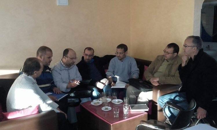 """سيدي إفني : بيان تضامني للمكتب الجهوي لنقابة مفتشي التعليم مع  المفتش التربوي """" علي توعدي """""""