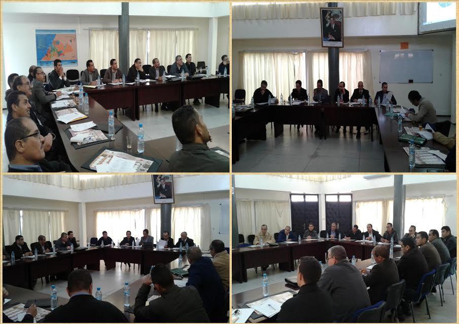 تيزنيت : لقاء موسع لتوطين المشاريع المندمجة للرؤية الاستراتيجية 2015-2030 ضمن الهيكلة التنظيمية للمديرية الإقليمية بتيزنيت