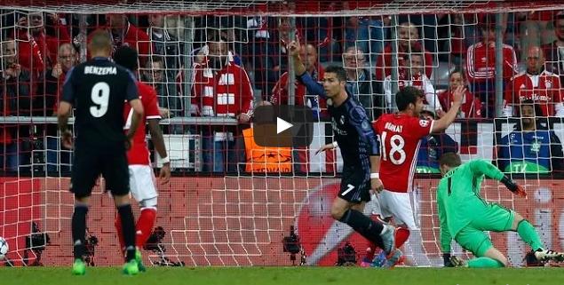 بالفيديو : بايرن ميونيخ يخسر أمام ضيفه ريال مدريد