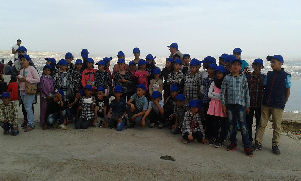 تيزنيت : م.م سوس العالمة اكلو تنظم رحلة مدرسية الى مدينة اكادير