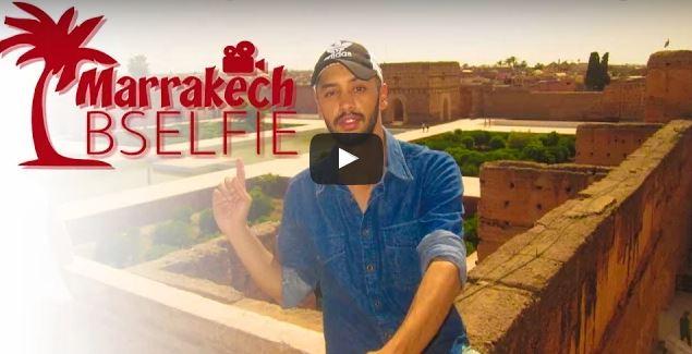 عمل فني جديد لإبن تافراوت : مراكش بالسيلفي