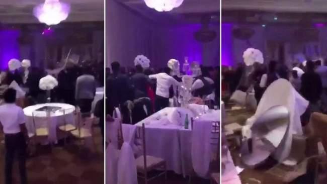 بالفيديو :زفاف يتحول إلى معركة مأساوية بعد توزيع صور فاضحة للعروس على المدعوين