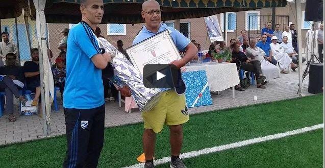 فيديو : الحفل النهائي للموسم الكروي 2016/2017 لمدرسة قدماء أمل تزنيت