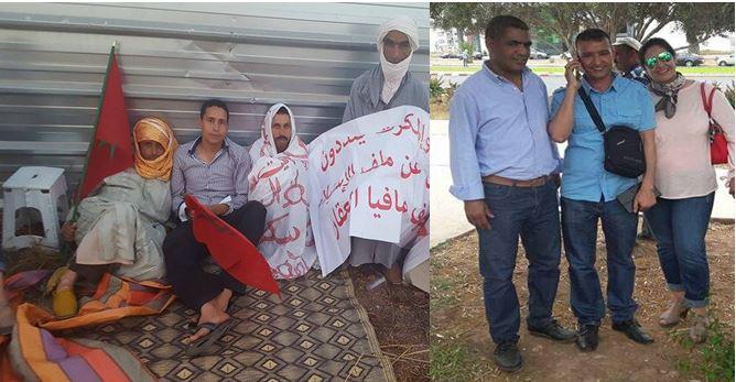 """الـــ """"AMDH"""" تحتج على استفزاز محتجين ضد """"مافيا العقار"""" بسوس وتعتبر محاكمة """"بوطعام """"انتقامية"""